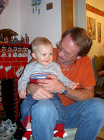 Noah and Gpa mike stenvold